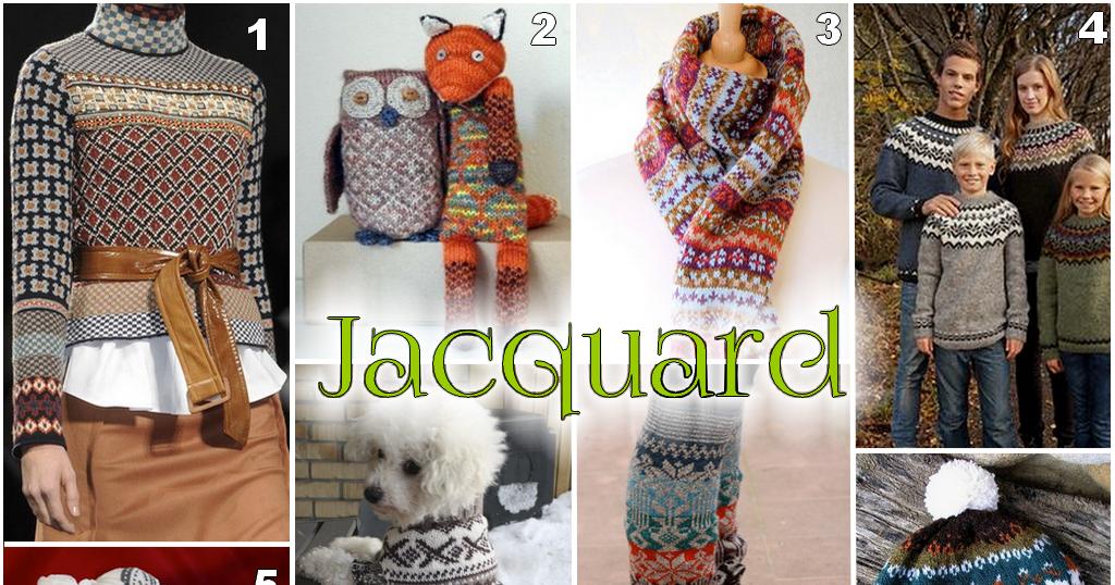 Punto jacquard stranded knitting o stranded colorwork - Que es jacquard ...