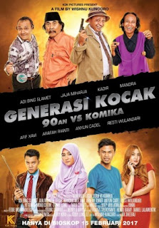 Download Film GENERASI KOCAK: 90AN VS KOMIKA (2017) Full Movie
