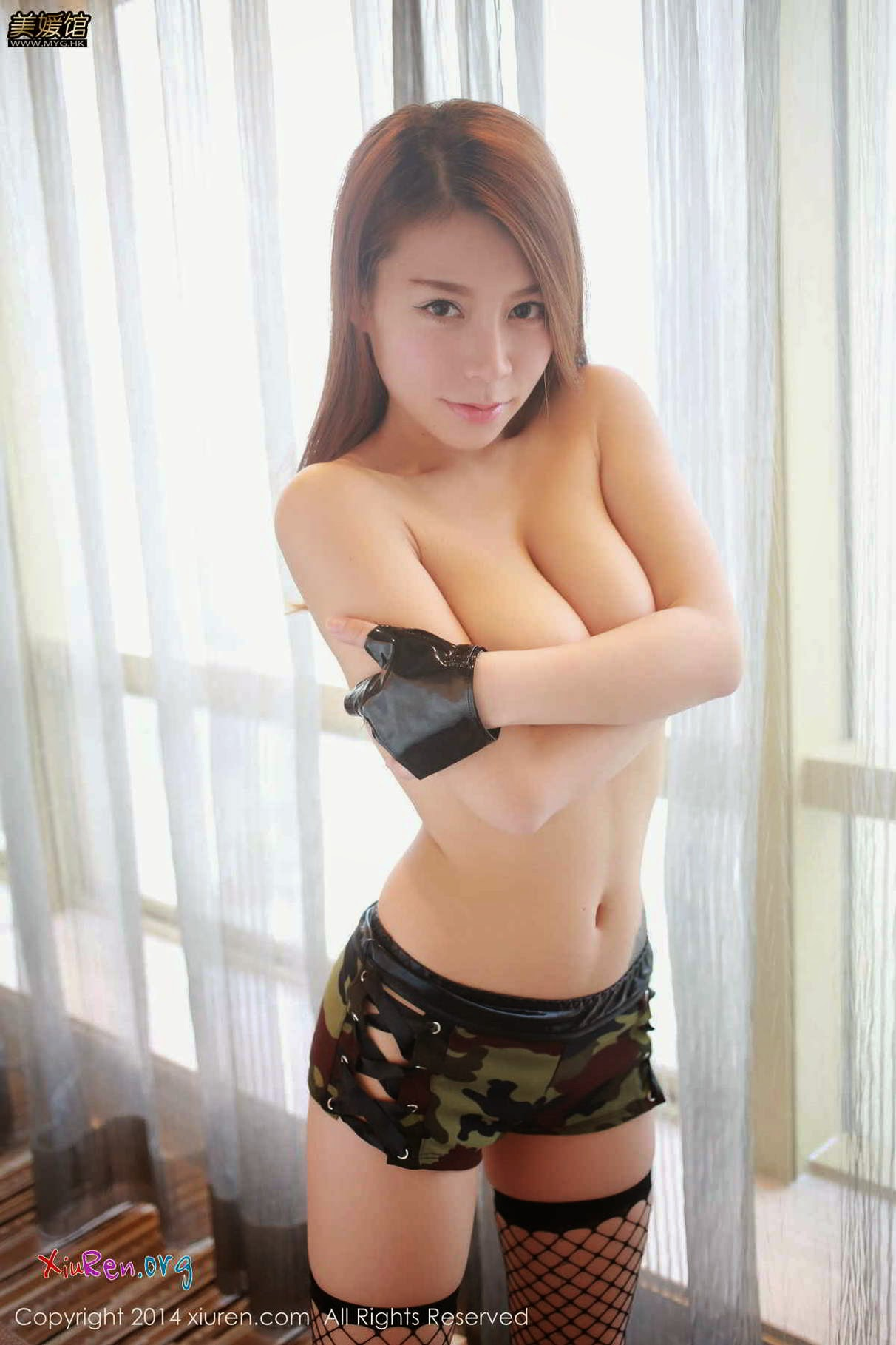 Asian military women naked