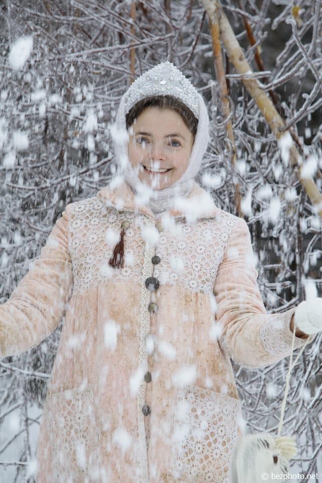 красивое зимнее фото