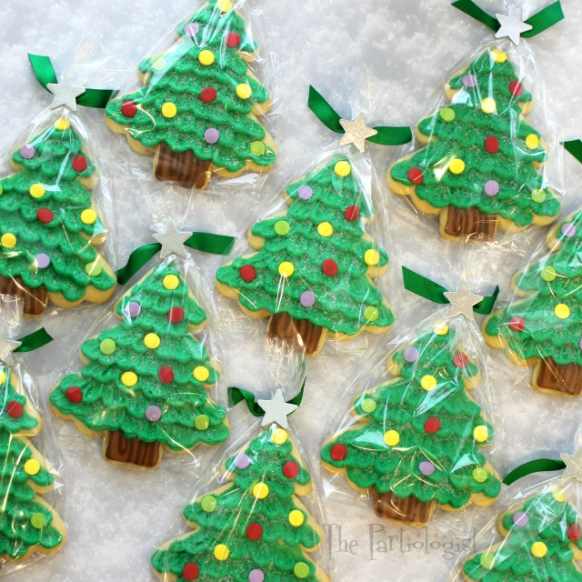 The Partiologist Jumbo Christmas Tree Cookies