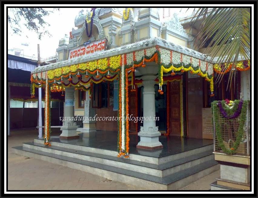 VANADURGA DECORATORS, PADUBIDRI.: Temple & Mata Decorations