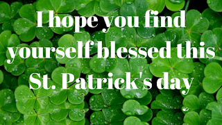 St Patrick's day vintage images