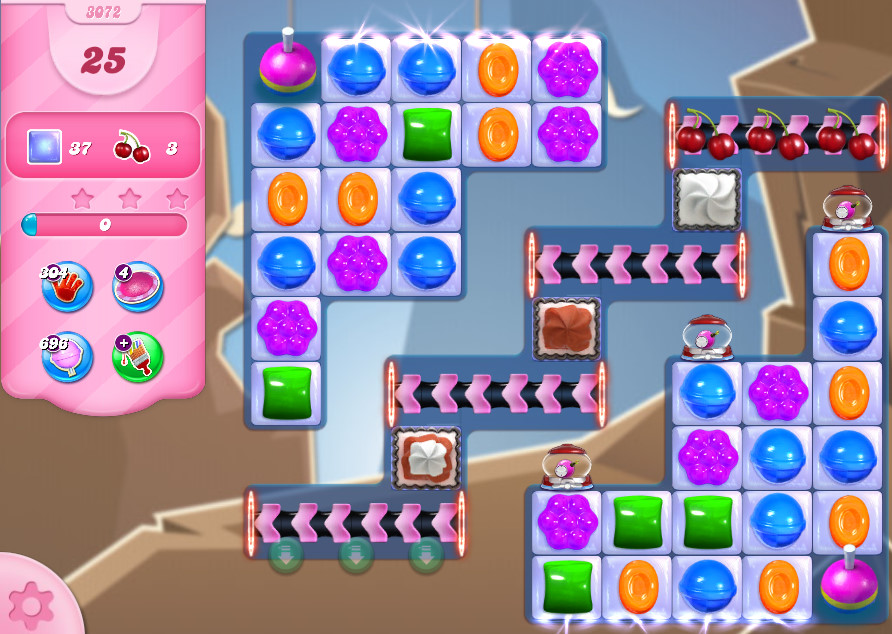 Candy Crush Saga level 3072