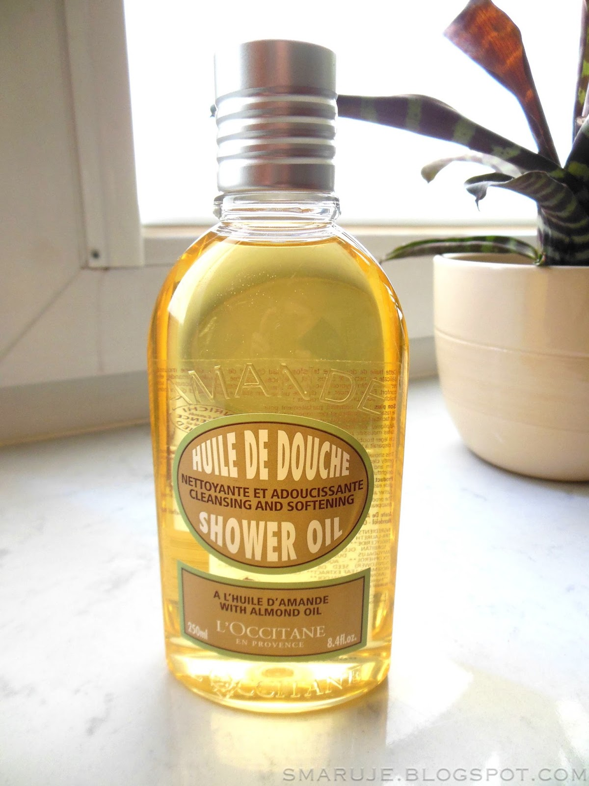 L'Occitane – Amande Huile de Douche – migdałowy olejek pod prysznic [recenzja]