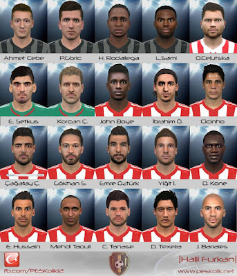PES 2016 STSL Facepack by Halil Furkan