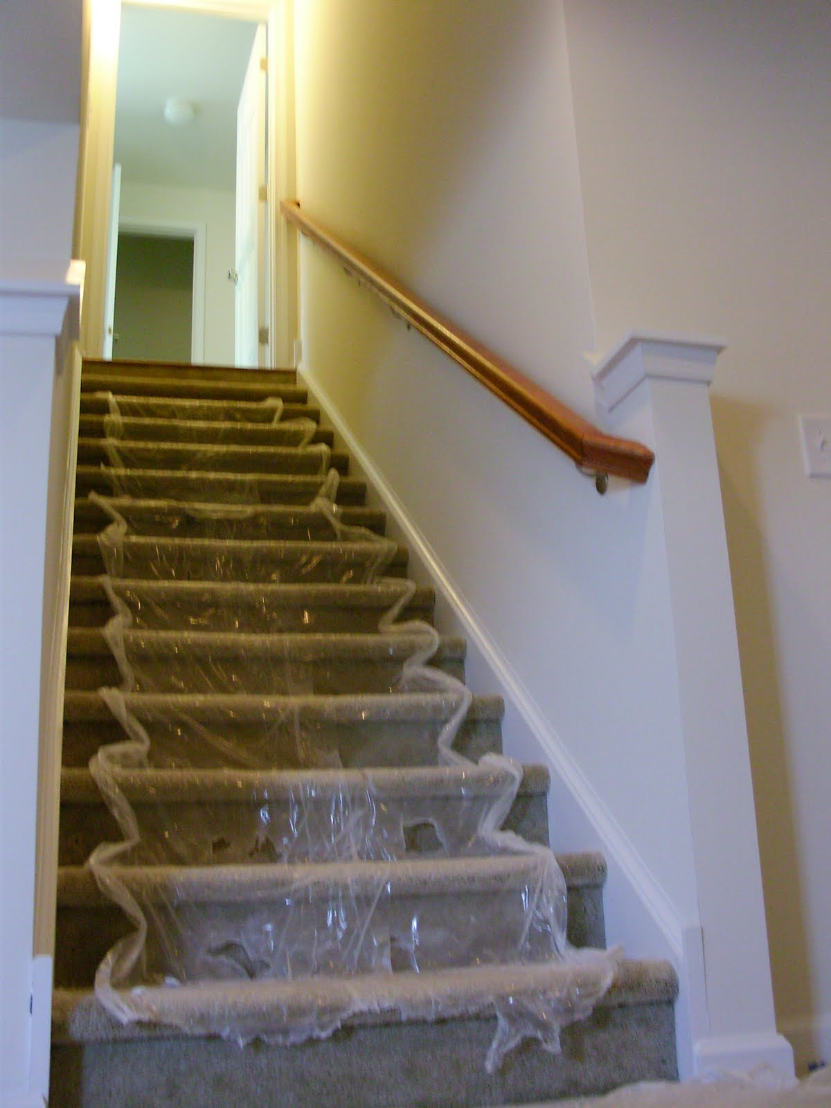 Basement Stair Trim: Our 1st New Home: Building A Ryan Homes Milan: Exterior