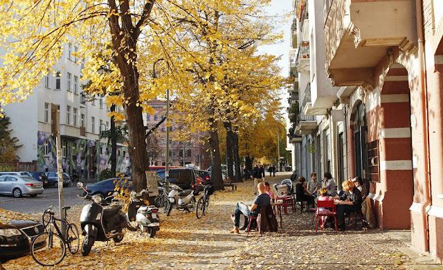 Região de Prenzlauer Berg em Berlim