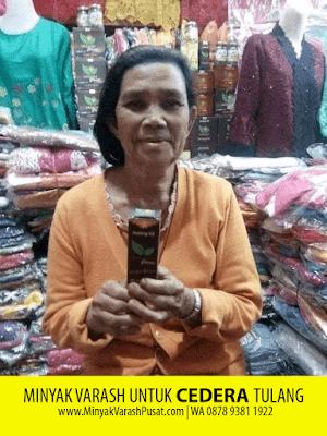 Minyak Varash untuk Cedera Tulang