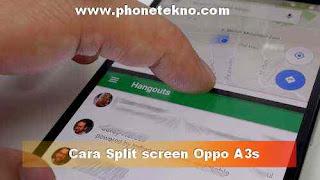 Cara membuka 2 aplikasi bersamaan di OPPO A3s