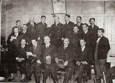 Componentes del Club Ajedrez Barcelona en 1923