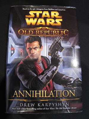 Hardback cover for Star Wars: The Old Republic - Annihilation