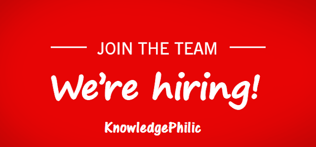 We are Hiring Content Developers : Work With KnowledgePhilic