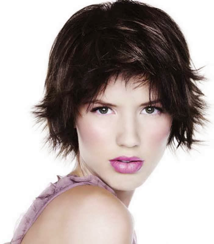 short hairstyles for fine hair oval face. Black Bedroom Furniture Sets. Home Design Ideas