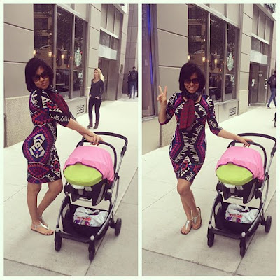 Flavour's baby mama, Anna Ebiere stuns in new photos