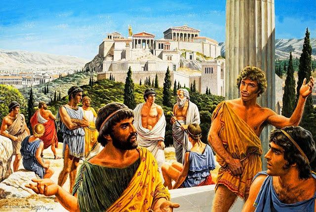 Αποτέλεσμα εικόνας για αρχαία Αθήνα
