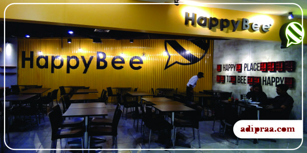 Restoran Happy Bee | adipraa.com