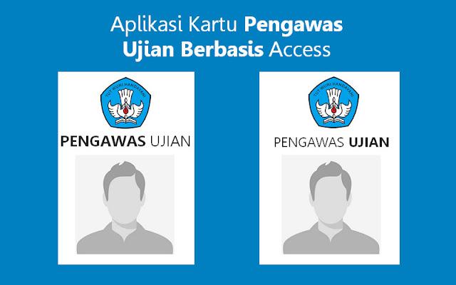 Aplikasi Kartu Pengawas Ujian