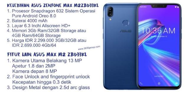 Kelebihan dan Fitur Asus Zenfone Max M2