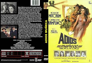Carátula: Adiós muñeca (1975) Farewell, My Lovely