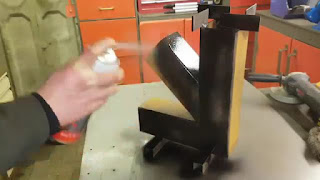 membuat sendiri kompor tungku roket solusi gas langka