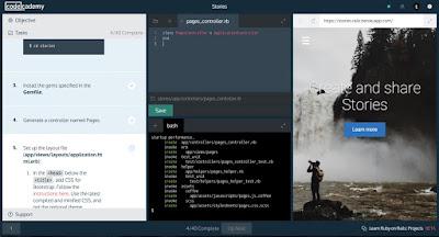 سجل في موقع codecademy لتعلم البرمجة و لغاتها