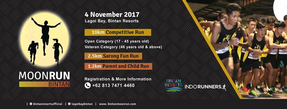 Bintan Moon Run • 2017