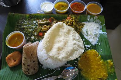 Komala Vilas, rice plate