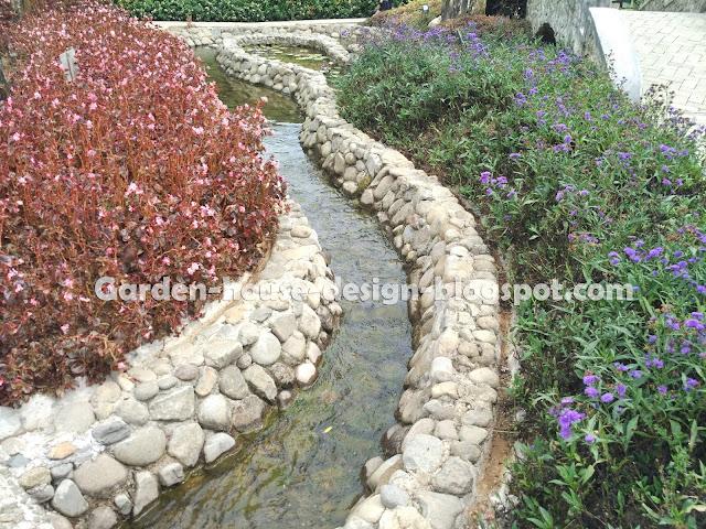 Garden House Design Idea Landscaping Backyard Small River Landscpaing
