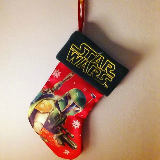 Star Wars Christmas Stocking Boba Fett