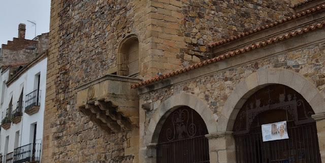 El balcón de los Fueros de Cáceres