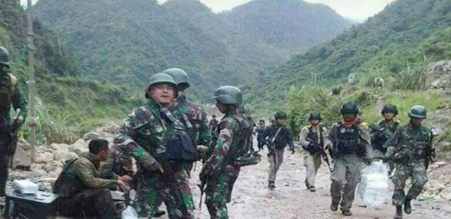 Tuntaskan Tugas, TNI-Polri Tidak Boleh Ditarik dari Papua