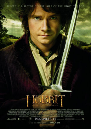 The Hobbit An Unexpected Journey 2012 BRRip 500MB Hindi Dual Audio 480p Watch Online Full Movie Download bolly4u