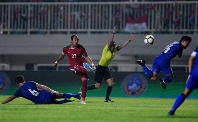 Timnas U-23 Korsel Bobol Gawang Indonesia 2-1