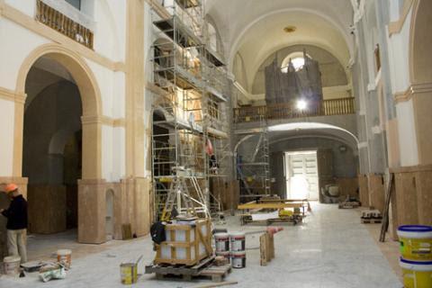 Pintura decorativa,restauración de iglesias y casas antiguas