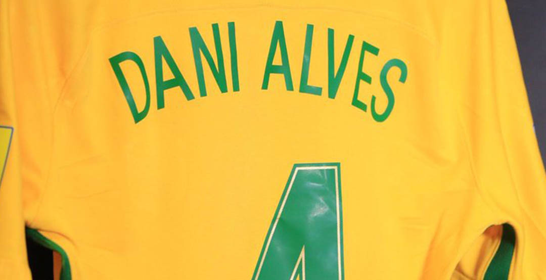 12a98248538 Juventus defender Dani Alves will switch shirt numbers for the 2018 World  Cup qualifiers clash against Argentina to pay homage to Carlos Alberto  Torres