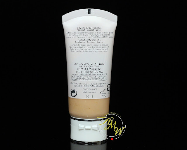 a photo of Lancôme UV Expert XL-ShieldTM CCCover SPF50 PA+++.