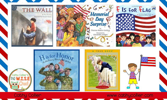 Memorial Day should be shared with our learners as a day of respect and honor, not a day off school.  Picture books, writing tools, and word work activities will help support this lesson.