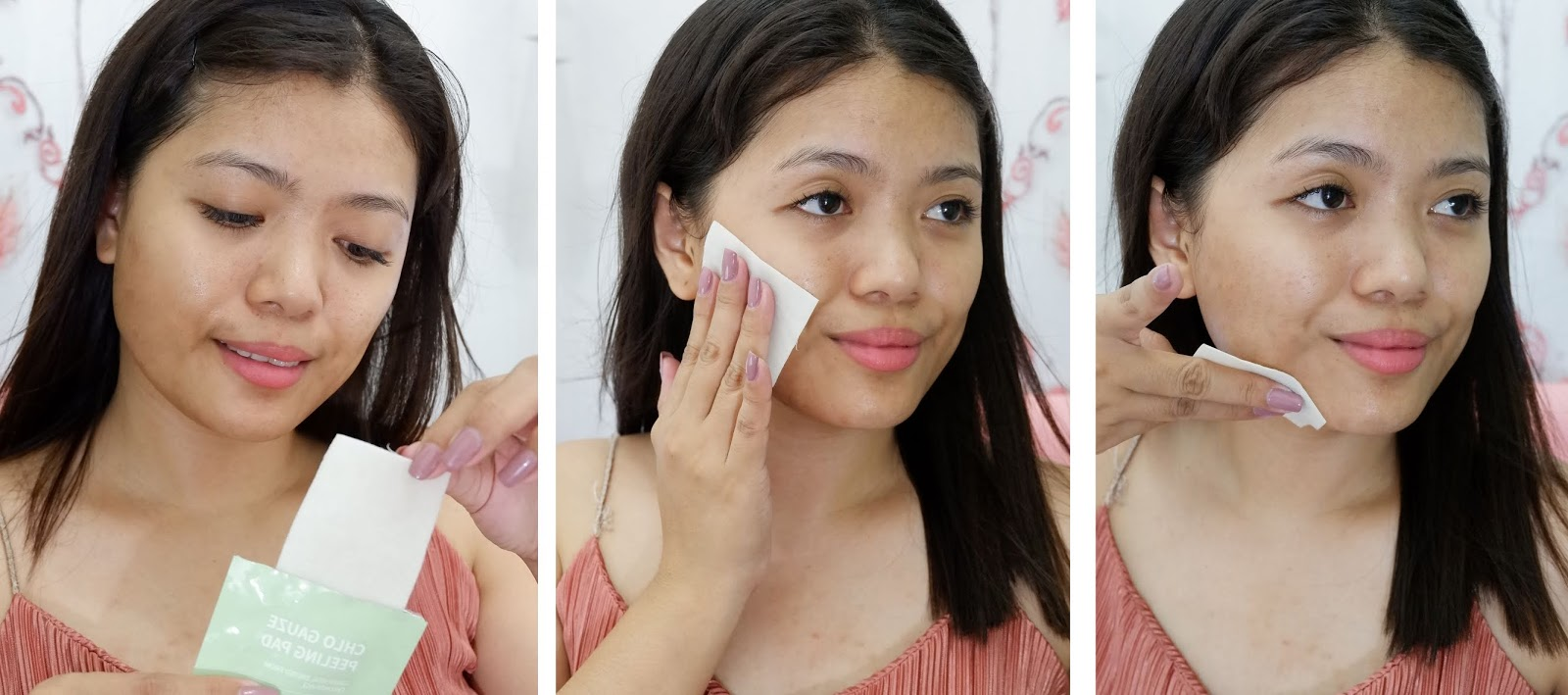 3 STEPS TO HAVE A CLEAR SKIN WITH MUSTUS CHLO AMPOULE / GEL CREAM/ GAUZE PEELING PAD