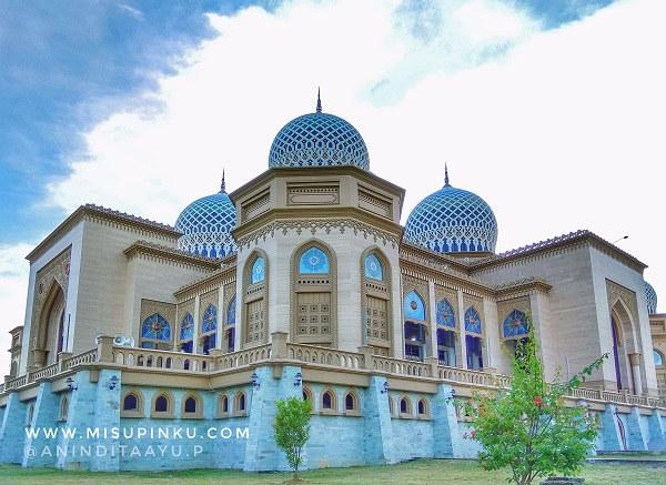 masjid islamic center destinasi wisata di Lhokseumawe