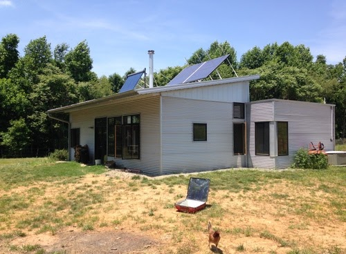 Modern Off Grid Prefab Home Gets Updates From A Prefab