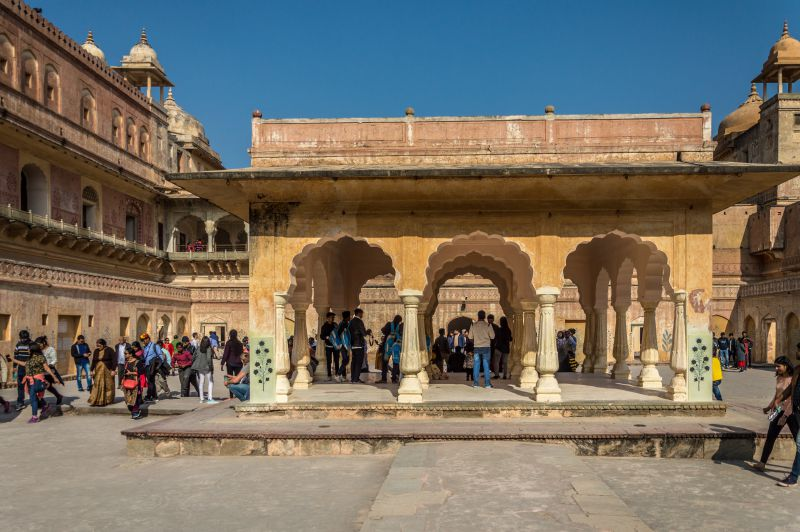 Baradari of Raja Maan Singh's Palace also known as Zanana Deodhi