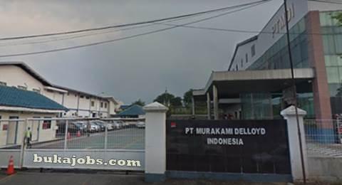 Lowongan Kerja Operator Produksi PT Murakami Delloyd Indonesia