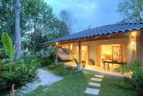 Rumah bergaya tropis