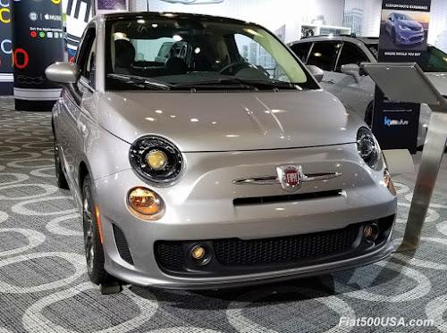 Fiat 500 Urbana front