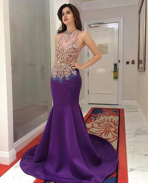Look Here! Viral Photos of Sue Ramirez Wearing an Elegant Purple Gown! Can She be the Next Miss Universe?