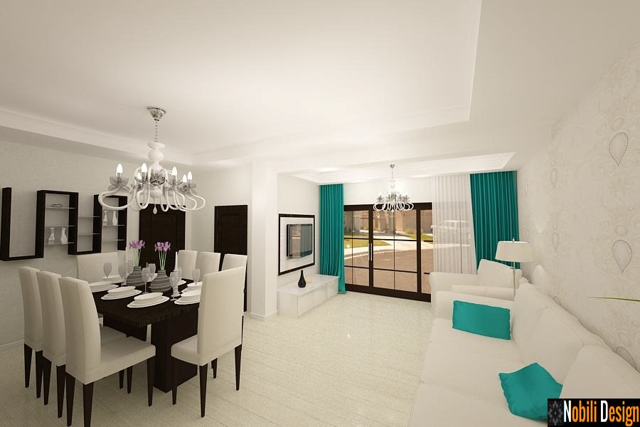 Design interior living casa stil modern Bucuresti - Amenajare interioara casa moderna in Bucuresti| Design - interior - living - modern - Bucuresti. Amenajare - apartament - 3 camere - Mihai Bravu - BUCURESTI - PRET .
