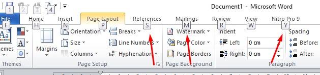 Daftar Tombol Pintas Microsoft Word