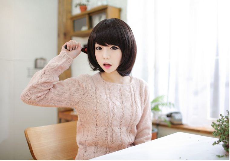 Korean Bob Wig Fashion Korean Fashion Wig Bob Hair
