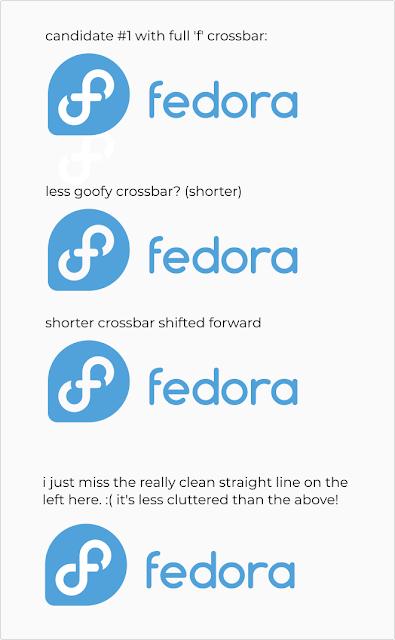 Novos logos para o Fedora